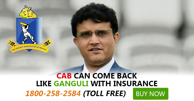 Sourav's defiance couldn't save CAB's loss, but Insurance could_Body